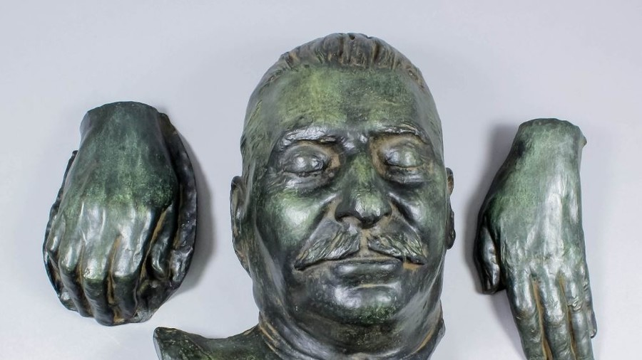 Stalin's death mask unexpectedly fetches thousands at British auction
