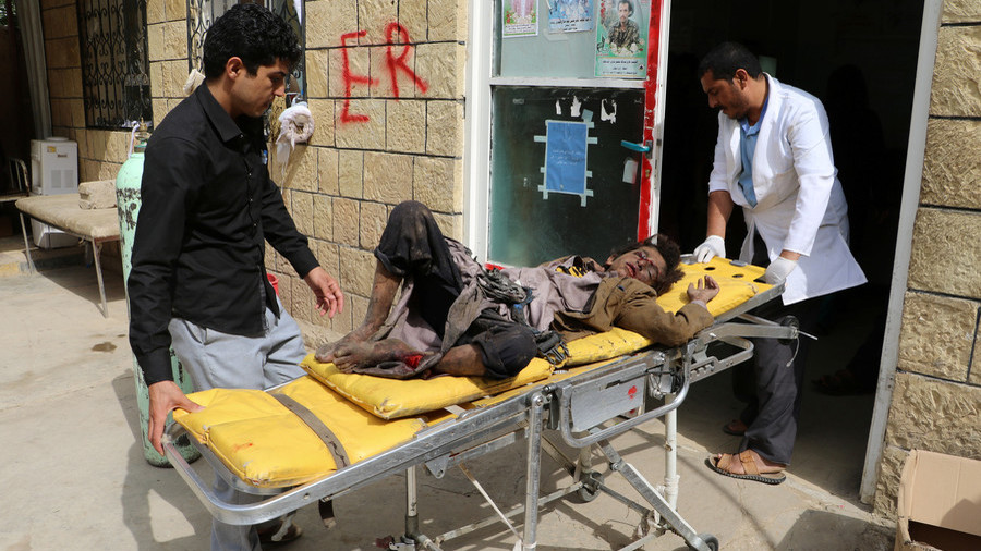May, Hunt silent as UK's best arms customer kills dozens of children in Yemen bus attack
