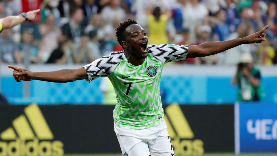 Nigerian star Musa receives hero's welcome on arrival in Saudi Arabia (VIDEO)