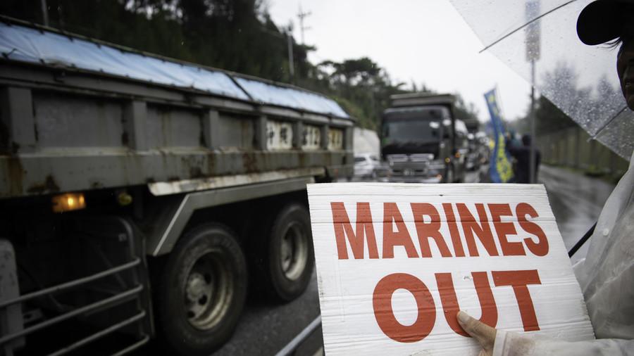 70.000 pessoas protestam contra base do exército dos EUA em Okinawa