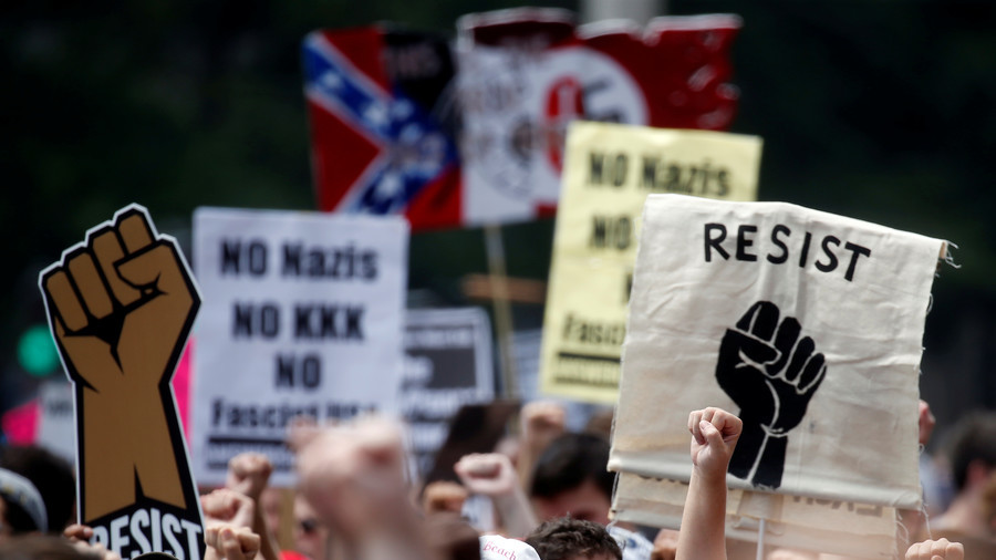 White supremacists and their opponents descend on Washington
