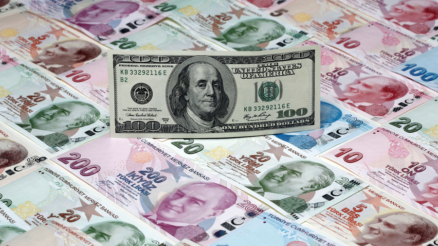 Turkey claims social media accounts are 'provoking' crash of the lira