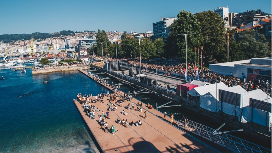 Hundreds injured as festival platform collapses into sea in Vigo, northwest Spain