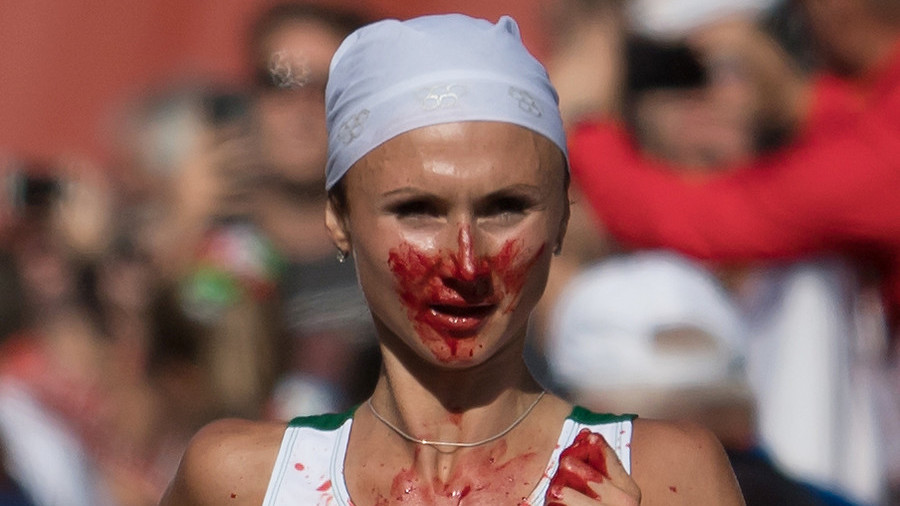 'It looked awful, but what could I do?'– Belarusian runner won marathon despite excessive nosebleed