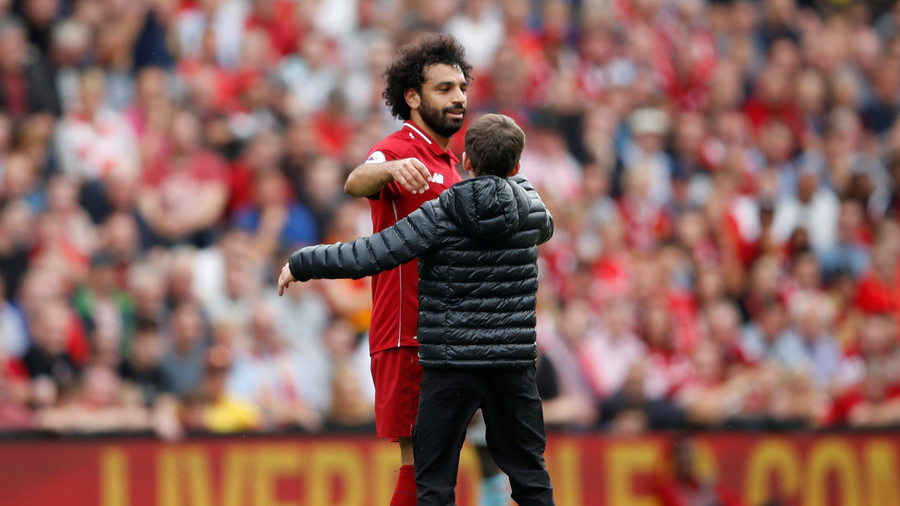 Mo Salah is yet again praised by fans for a class act