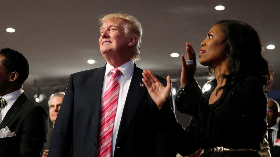 Trump feuds with former 'apprentice' Omarosa in White House drama fit for reality TV