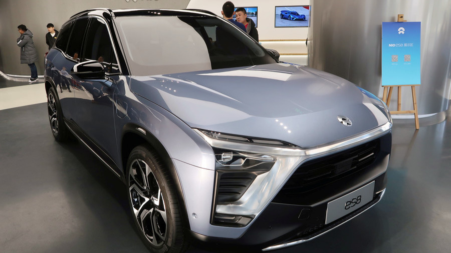 Chinese EV startup Nio files for $1.8 billion IPO