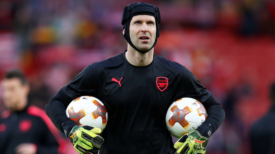 Petr Cech: Arsenal goalkeeper calls Bayer Leverkusen 'sad' after tweet