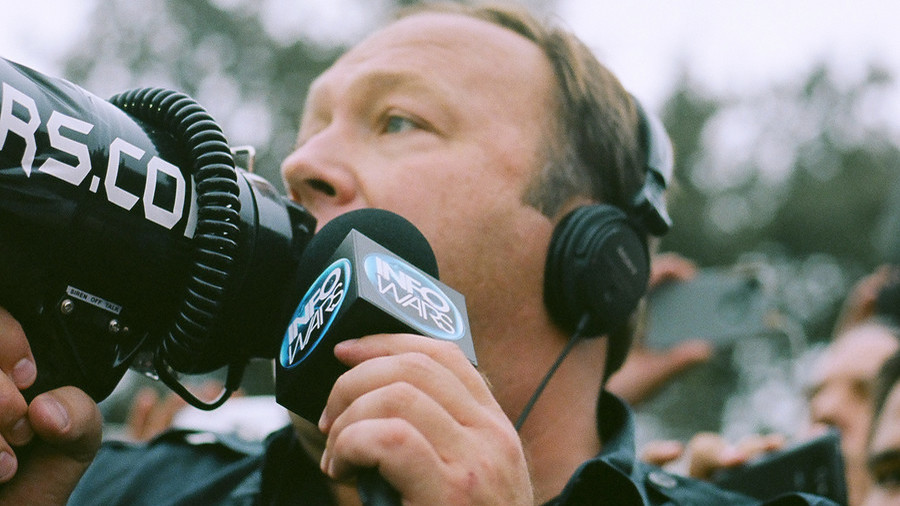 Twitter suspends Alex Jones for violating its rules