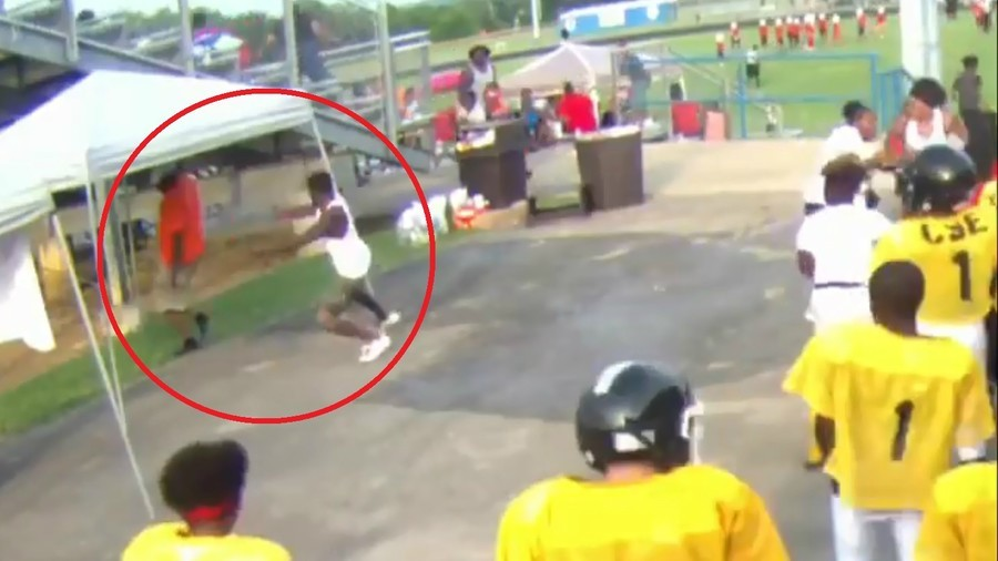 American youth coach shot over pee wee football fight (VIDEO)