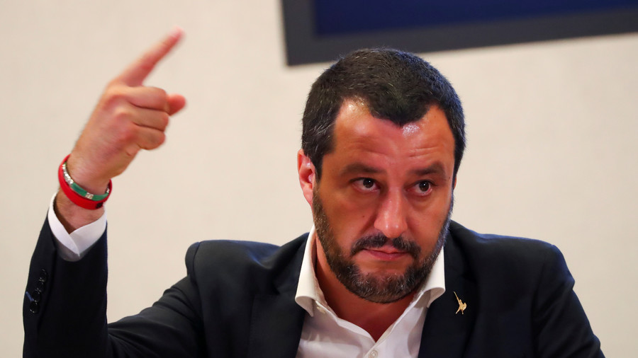 Salvini says EU budget rules risk safety of Italians after Genoa bridge collapse