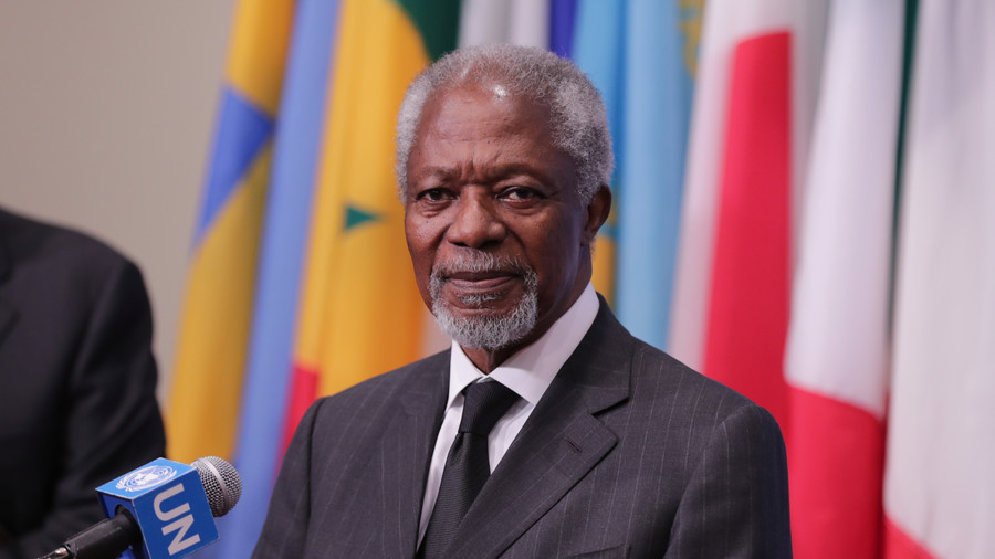 Former UN chief and Nobel Peace Prize winner Kofi Annan dies at 80