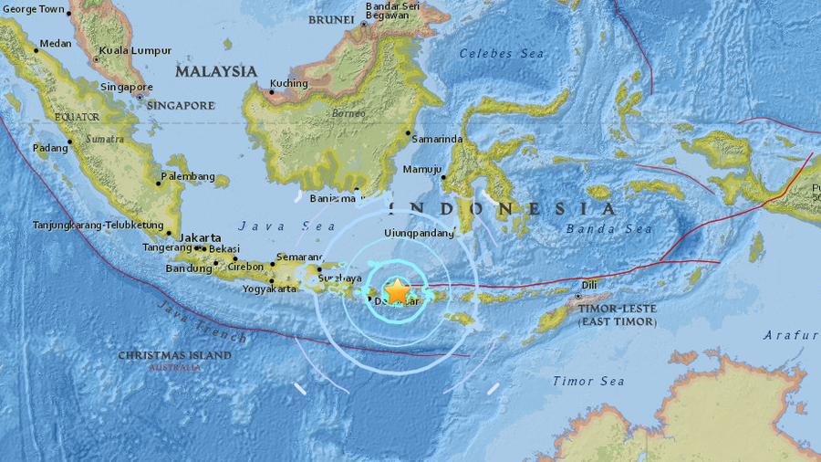 Massive 8.2 quake strikes in the Pacific