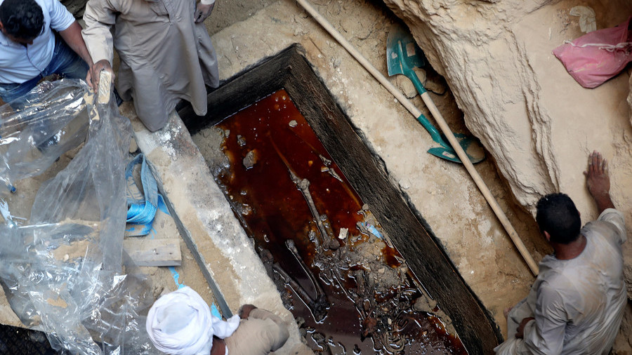 Here's who was inside the 'cursed' Egyptian sarcophagus (PHOTOS)