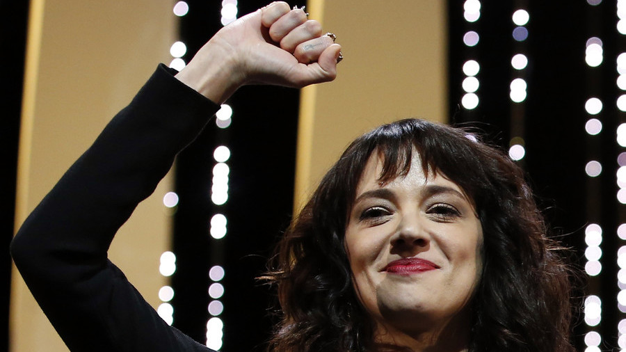 #SheToo? Actress Argento, who accused Weinstein, paid her own accuser