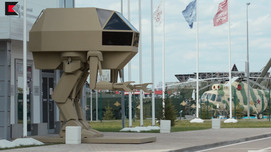 Walker robot concept among Kalashnikov's latest project revelations