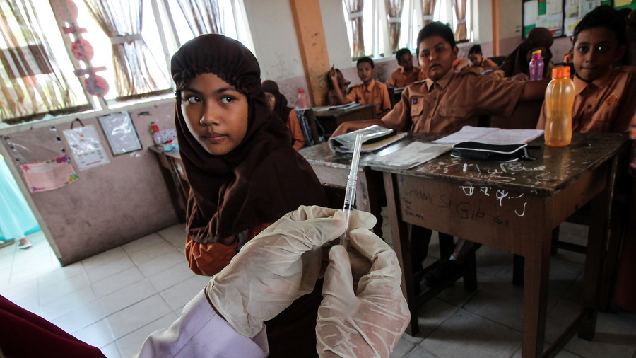 Fatwa against measles vaccine issued in Indonesia as contagious disease cases skyrocket