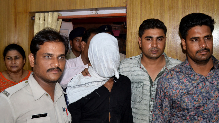 2 men sentenced to death for gang-raping & slitting throat of 8yo girl in India