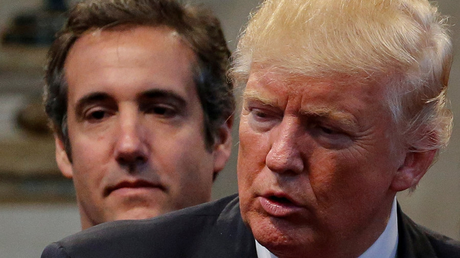 Trump accuses Michael Cohen of 'making up stories' to get a 'deal'