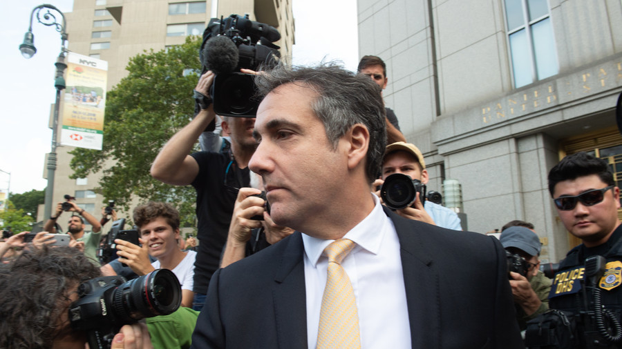 Trump says Cohen payments came from him, not campaign