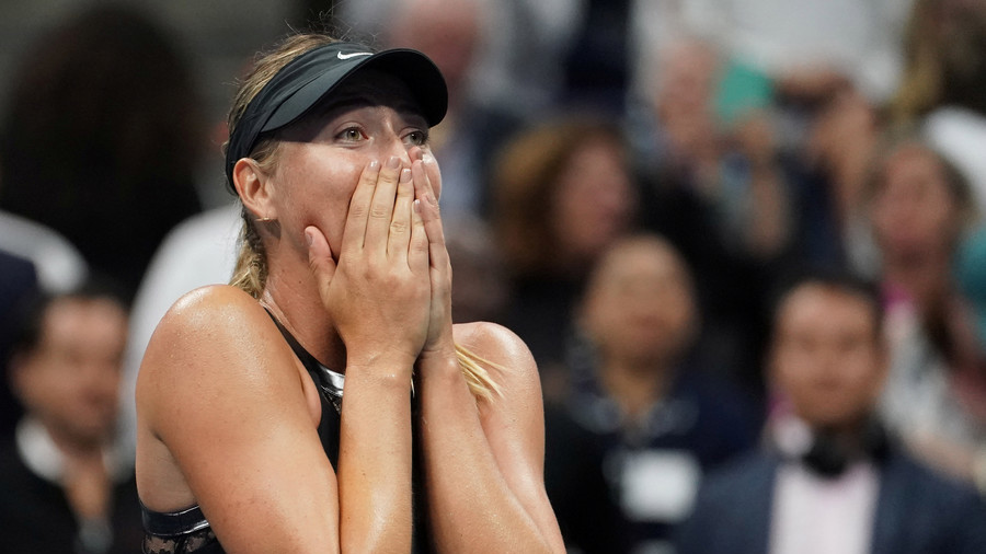'At least you didn't pull your shorts down': Sharapova mocks book editor on Twitter