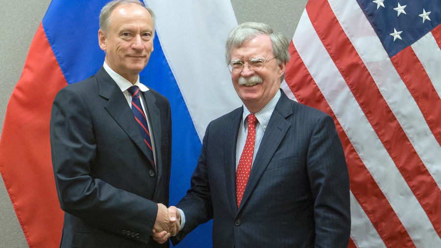 John Bolton touts 'considerable progress' after 5-hour US-Russia security meeting