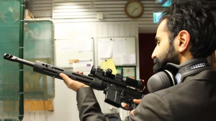 'Press E to destroy press': Swedish MP in hot water over gun pics & declaring 'war' on media