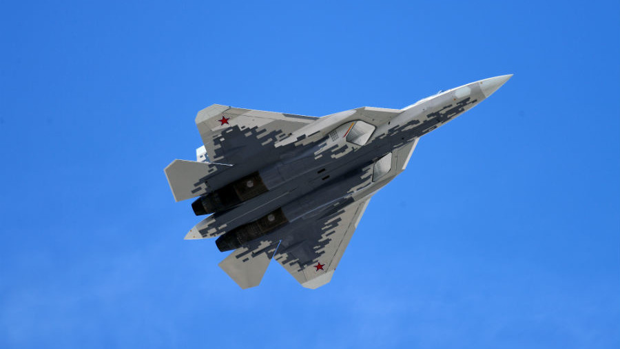 Russia's 5th-gen Su-57 stealth fighter will have AI combat mode – report