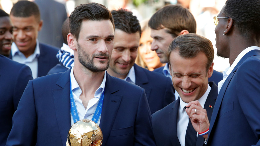 0a961b33313 World Cup-winning Spurs 'keeper Hugo Lloris arrested on late-night drink-