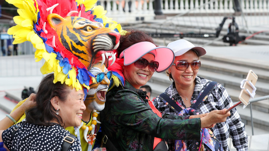 Chinese tourism to Russia more than doubled this year