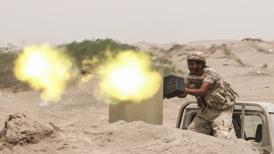 Saudi-led strike in Yemeni city of Hodeidah kills at least 26, mostly children – local media