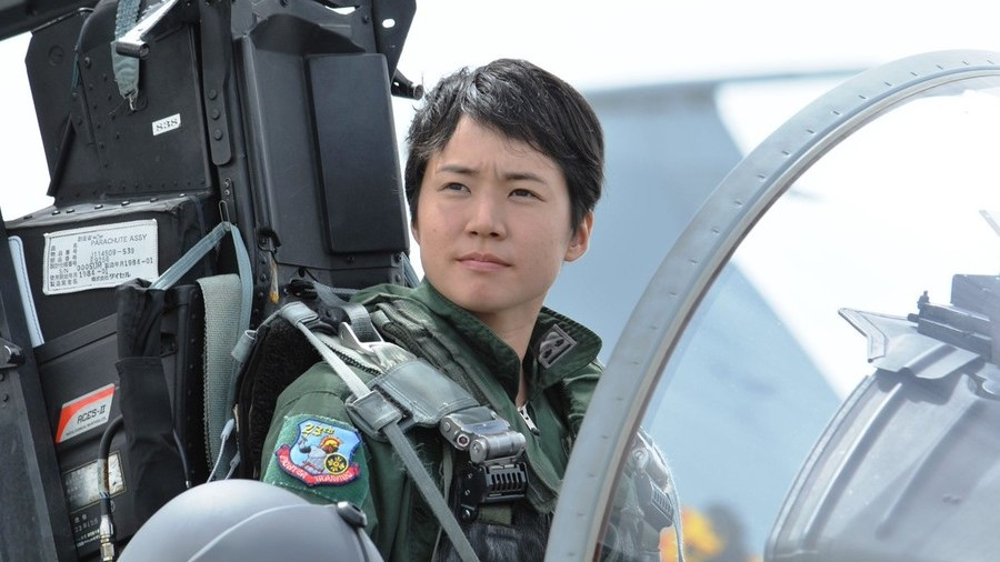 Inspired by Top Gun: Japan's first female fighter pilot breaks air force's glass ceiling