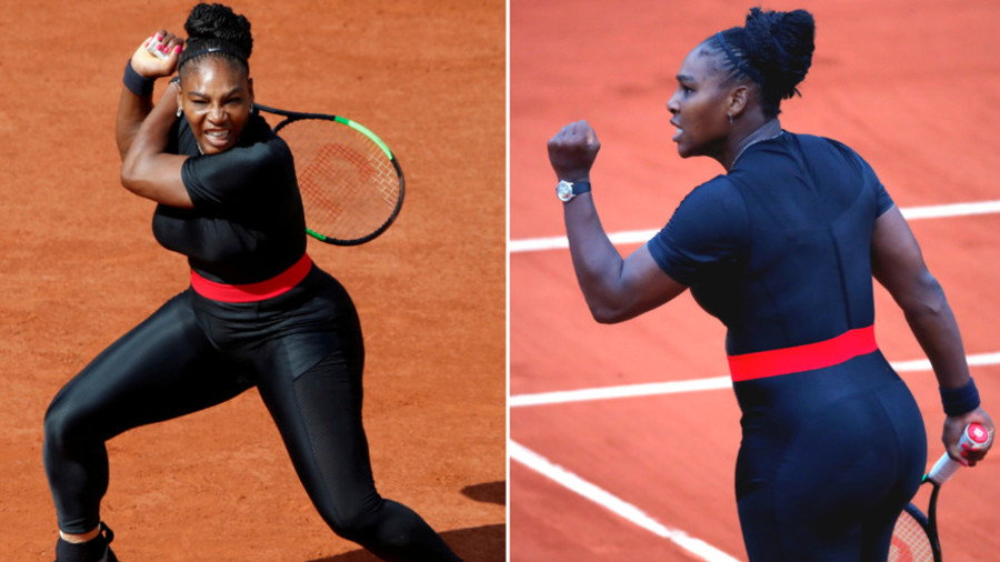 Serena banned from wearing her 'super-hero' catsuit