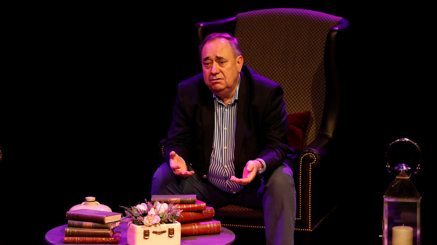 Salmond tells RT he's headed to 'highest court in the land' over govt's handling of harassment case