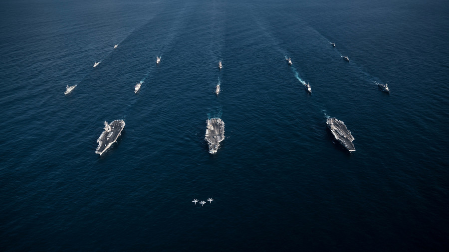 Reactivated US 2nd fleet returns to North Atlantic 'ready to fight'… guess who?