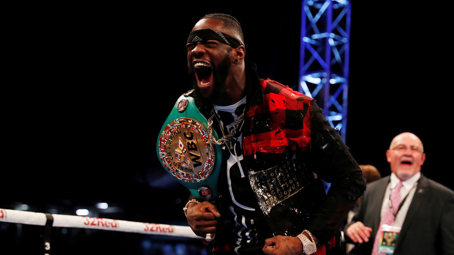 'He's filled with energy & high spirits': Deontay Wilder praises disabled fan on trip to N. Ireland