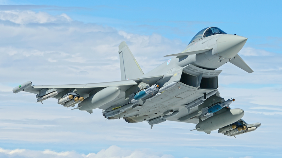 BBC lauds RAF for keeping nasty Russian planes at bay… 2,000km away from the UK