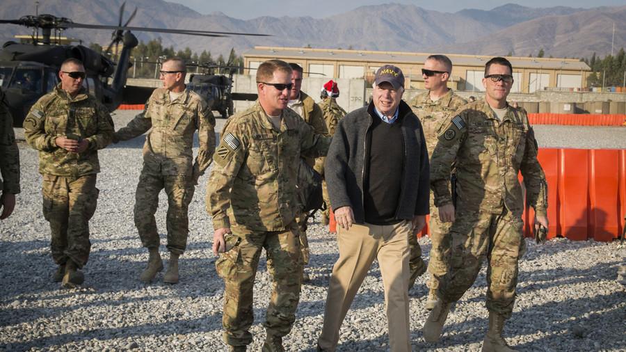 'Hero representing best US ideals': Politicians & public figures praise McCain's legacy