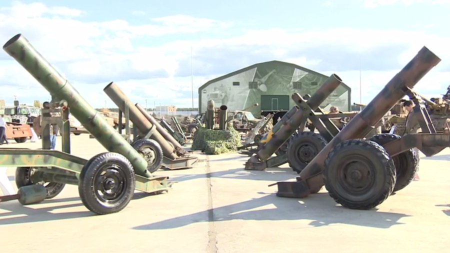 WWII relics & cutting-edge US drones: Spoils of Syrian war displayed in Russia (VIDEO, PHOTOS)