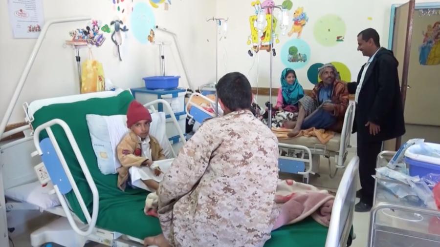 'We're suffering': Yemen bombing, blockade stops cancer patients from getting vital medicine (VIDEO)