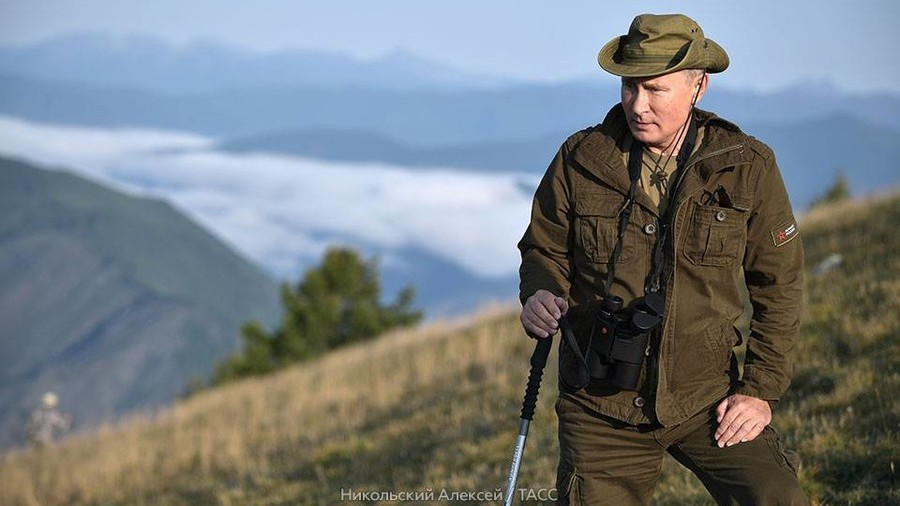 Putin takes Siberian hiking break with top security chiefs