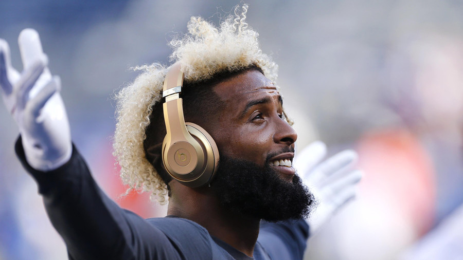 75ee3e91d New York Giants star Odell Beckham Jr. signs record  95mn deal — RT ...