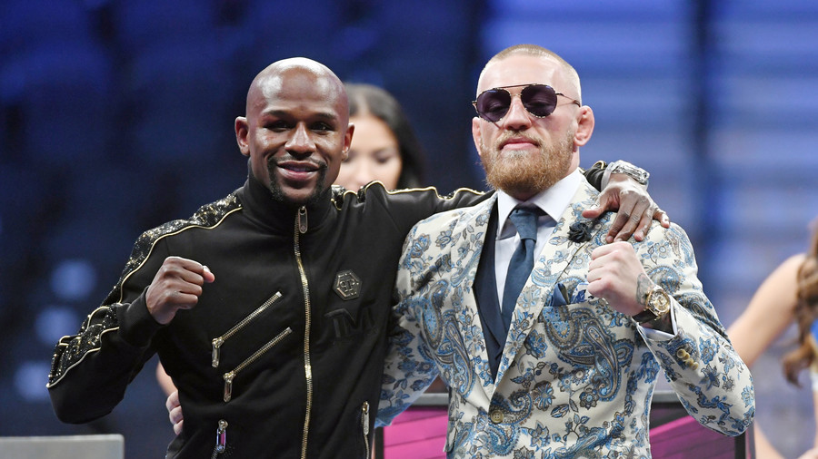 Mayweather offers to help 'warrior' McGregor ahead of Nurmagomedov UFC fight