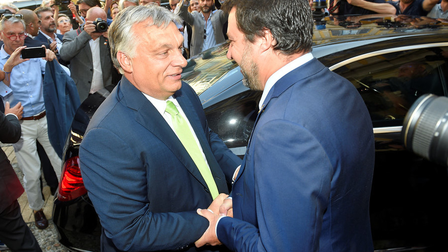 Salvini set to meet Orban in Milan - English