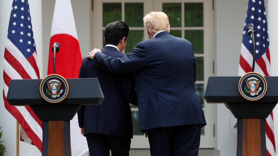 Trump told Japan's Abe he 'remembers Pearl Harbor,' Washington Post says. Didn't happen, Tokyo says
