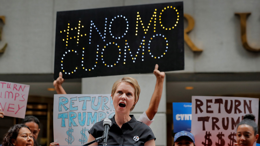 Cuomo, Dodging Corruption Accusations, Attacks Cynthia Nixon: 'You're A Corporation'