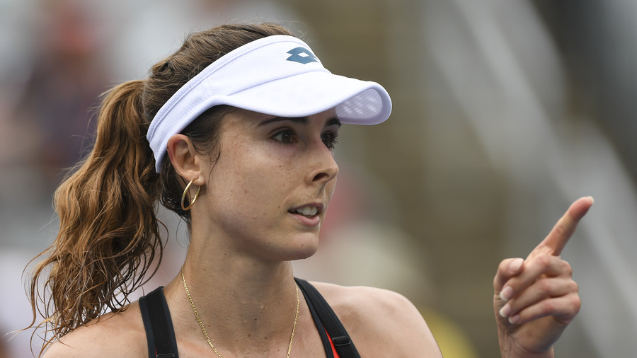 Players were talking about making a revolution if I got fined – Cornet on US Open sexism row