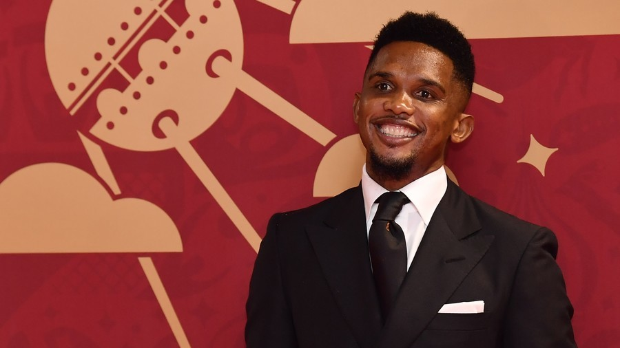 Samuel Eto'o promises to buy house for homeless former Cameroon captain