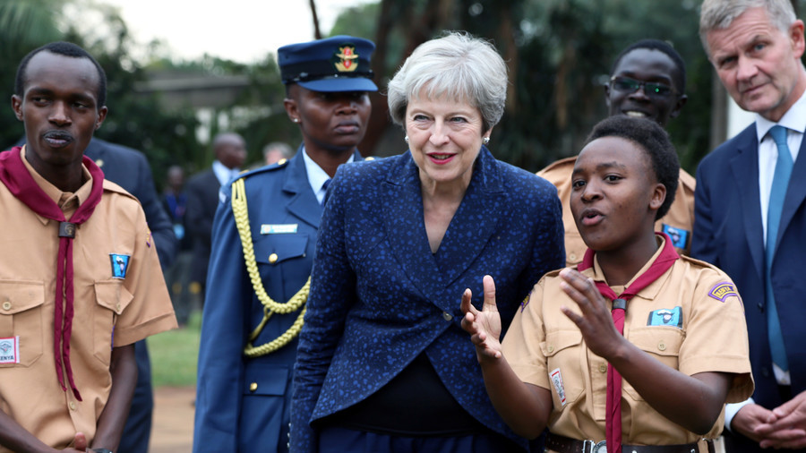 'I like to move it, move it': WATCH Theresa May indulging in 'robotic' African dance
