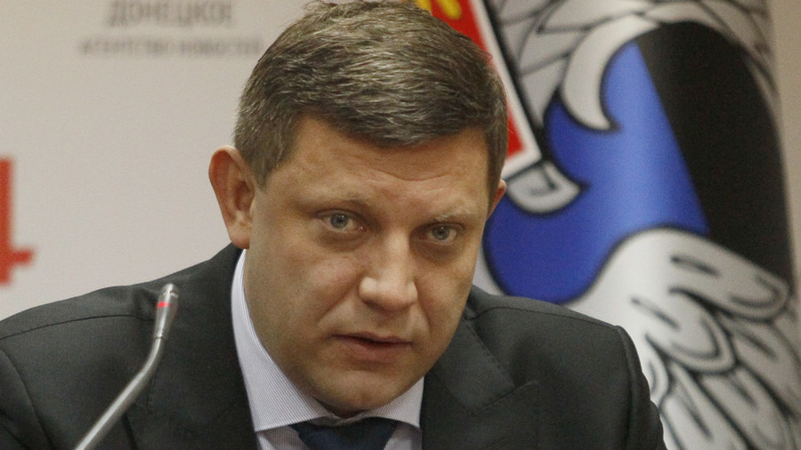 Rebel leader Zakharchenko killed in Donetsk cafe explosion